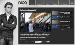 Official Nico Rosberg site