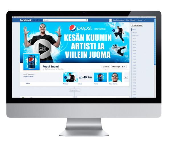 Pepsi Facebook