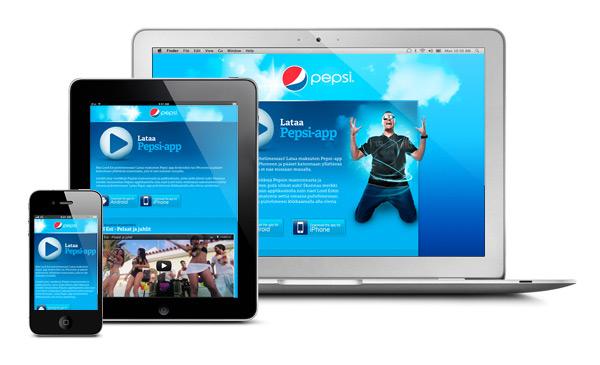 Pepsi mobiilisivusto
